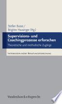 Supervisions- und Coachingprozesse erforschen