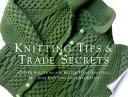 Knitting Tips   Trade Secrets