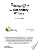 The Simple 6TM for Secondary Writers
