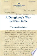 A Doughboy s War  Letters Home