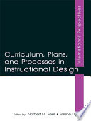 Curriculum  Plans  and Processes in Instructional Design
