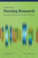 Introduction to Nursing Research: Incorporating Evidence-Based Practice