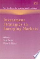 Investment Strategies in Emerging Markets