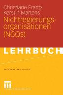 Nichtregierungsorganisationen  NGOs