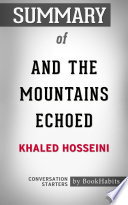 download ebook summary of and the mountains echoed by khaled hosseini | conversation starters pdf epub