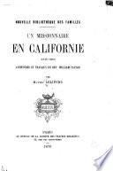Un missionaire en Californie (1849-1856)