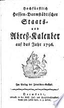 Hochfürstlich-Hessen-Darmstädtischer Staats- und Adreßkalender