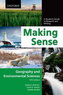 Making Sense in Geography and Environmental Sciences  Making Sense in Geography and Environmental Sciences