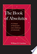 The Book Of Absolutes book