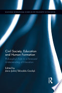 Civil Society  Education and Human Formation