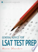 General Advice For LSAT Test Prep