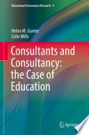 Consultants And Consultancy The Case Of Education