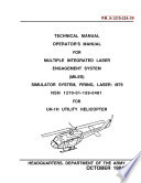 Manuals Combined Uh 1 Huey Army Helicopter Maintenance Parts Repair Manuals