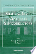 Shallow Level Centers in Semiconductors