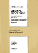 Supplement to Criminal Procedure