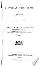 Victorian Year-book