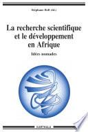 La recherche scientifique et le développement en Afrique - Idées nomades