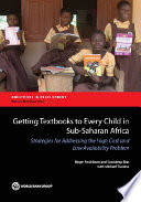 Getting Textbooks to Every Child in Sub Saharan Africa