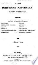 Livres d'histoire naturelle francais et étrangers