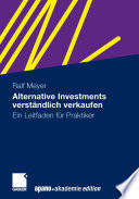Alternative Investments verst  ndlich verkaufen