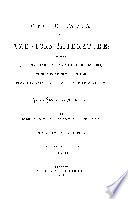 CYCLOPEDIA OF AMERICAN LITERATURE