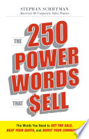 The 250 Power Words That Sell