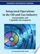 Integrated Operations In The Oil And Gas Industry Sustainability And Capability Development book