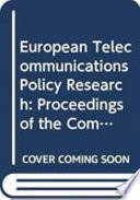 European Telecommunications Policy Research