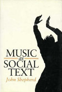 Music as social text
