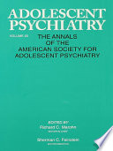 Adolescent Psychiatry  V  20
