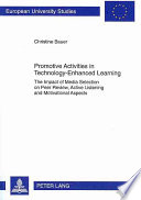 Promotive Activities in Technology enhanced Learning