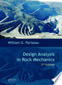 Design Analysis In Rock Mechanics Second Edition book