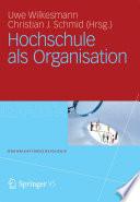 Hochschule als Organisation