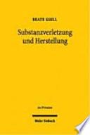 Substanzverletzung und Herstellung