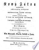 Testamentum novum Bohemice secundum versionem German  P  D  Hase ed  ab instituto litteraturae Slavicae