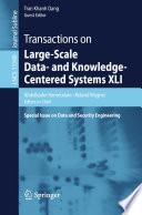 Transactions On Large Scale Data And Knowledge Centered Systems Xli