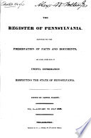 The Register of Pennsylvania