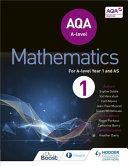 AQA a Level Mathematics Year 1  AS