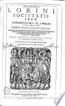 Commentarii In Librum Psalmorum0