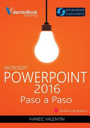 PowerPoint 2016 Paso a Paso