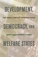 Development  democracy  and welfare states