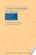 illustration du livre Science et technologie des aliments