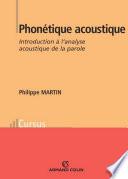 Phon  tique acoustique
