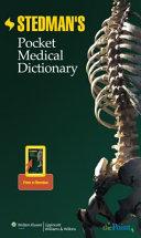 Stedman s Pocket Medical Dictionary