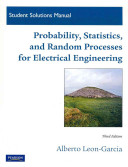 Student Solutions Manual for Probability  Statistics  and Random Processes for Electrical Engineering
