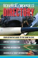 Baseball America 2016 Directory