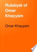 Rub  iy  t of Omar Khayy  m