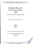 Hydraulic Research in the United States 1970