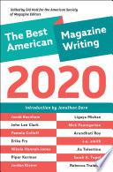 The Best American Magazine Writing 2020 Book PDF