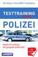 Testtraining to go Polizei